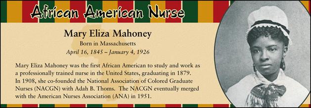 Mary Eliza Mahoney, African American Nurse