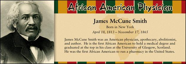 James McCune Smith, African American Physician