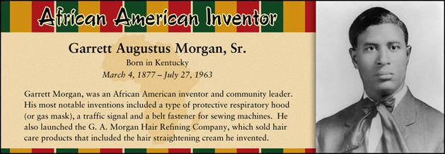 Garrett Augustus Morgan, Sr., African American Inventor