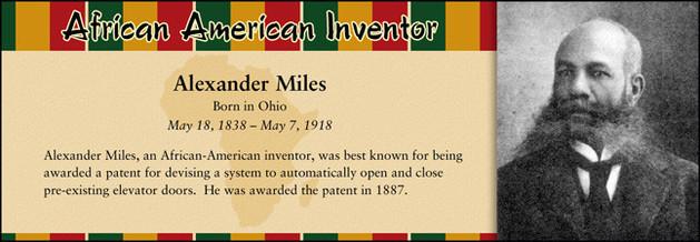 Alexander Miles, African American Inventor